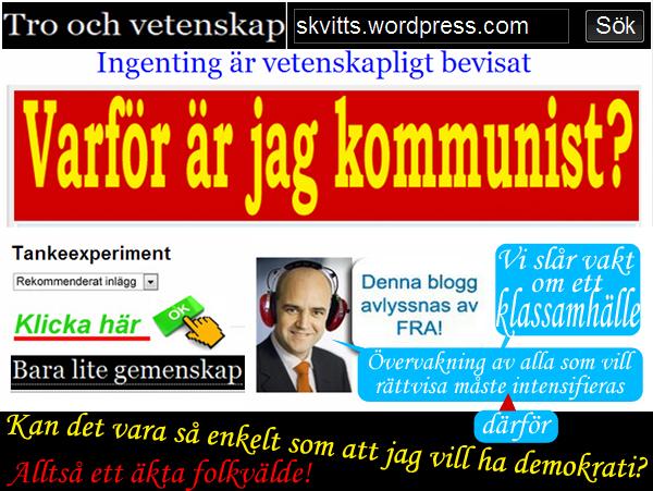 Varför kommunist o humanist